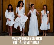 """Mademoiselle De Guise - Prêt-à-fêter -""""Rosa""""- 2021 - Tous droits réservés©"""