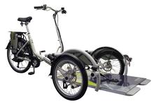 Van Raam VeloPlus Rollstuhl-Dreirad Elektro-Dreirad Beratung, Probefahrt und kaufen in Pfau-Tec Scootertrike Sessel-Dreirad Elektro-Dreirad Beratung, Probefahrt und kaufen in Halver