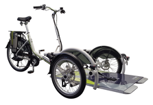 Van Raam VeloPlus Rollstuhl-Dreirad Elektro-Dreirad Beratung, Probefahrt und kaufen in Pfau-Tec Scootertrike Sessel-Dreirad Elektro-Dreirad Beratung, Probefahrt und kaufen in Cloppenburg