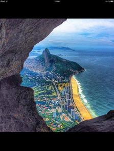 "Rio de Janeiro, von der ""Floresta da Tijuca"" (Tijuca Wald) fotografiert"
