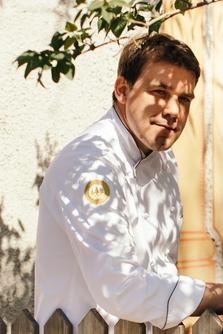 Luis Haller - Chefkoch im Schlosswirt Forst in Algund - Gourmet Südtirol