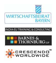Expandeers Partner Wirtschaftsbeirat Bayern, Crescendo, Barnes Thornburg and India EU Training