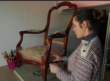 Emmanuelle Bourgeois Tapissier Décorateur à Gigean près de Montpellier et Sète dans l'Herault (34) Occitanie Sud de France