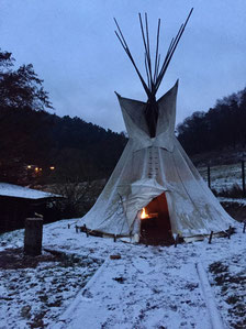 Tipi Winter