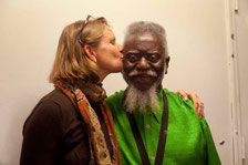 Pharoah Sanders and Fan