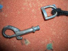gebrochener Karabiner Reparatur Hundeleine
