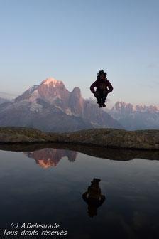 Lévitation au Lac Blanc - Chamonix