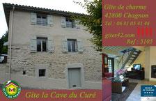 Gîte de la cave du curé (Chagnon).