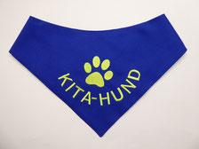 Hundehalstuch, Besuchshund, Schulhund, Kitahund