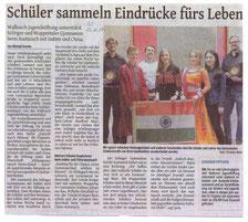 Solinger Tageblatt 23.11.17