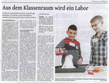 Bericht des Solinger Tageblatts vom 23.11.18