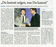 Bericht Solinger Tageblatt 20.08.14