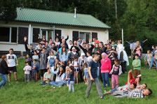 """Gruppenfoto Familiencamp  """"Netzwerk 20"""""""