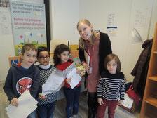 Alphabet Road propose des cours de préparation pour passer le test d'entrée en section anglaise au CP à l'école internationale conseil des XV ou robert schuman à strasbourg pour enfants
