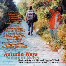 CD Autumn Ways (2008)