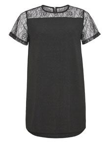 kurzes Kleid schwarz XXL
