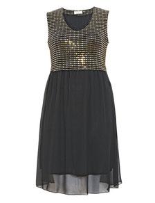 günstge Damenkleider in übergrößen , elegantes Kleid in Gr 52