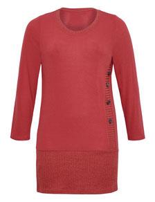 schickes Kleid rot Größe 50