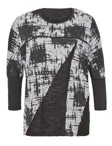 lässiger Damen Pullover in großen Größen, XXL Damenpullover schwarz