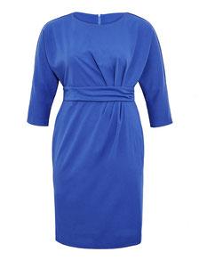 Kleid blau für mollige Frauen , Größe 52