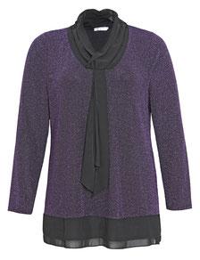 softe Bluse im Batik-Look für große Größen, runde Mode , Kurvenreiche Frauen