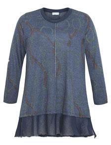 dunkelblauer Damen Pullover grosse Grössen