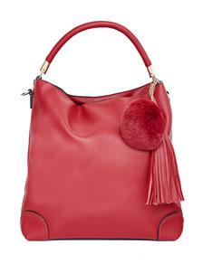 elegante rote Damenhandtasche billig