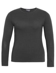 individuelles Damen Tunika T-Shirt in großen Größen, weiß Spitze