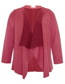 Damen-Jacke bordeaux rot in Größe 52