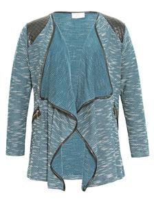 Layer-Jacke blau meliert XXL