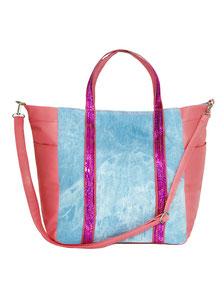 elegante Damentasche blau
