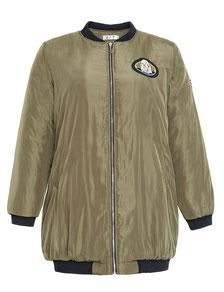 topmodische Bolber-Jacken khaki in großen Größen