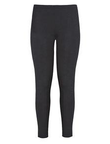 Legging Baumwolle schwarz  XXL