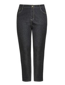 Damen Boyfriend-Jeans schwarz XXL