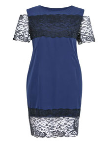exklusives blaues Abendkleid größe Größen , elegante Kleider XXL