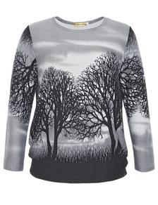Baumpritn Pullover in Größe 50
