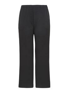 elegante Marlene-Hose schwarz in großen Größen