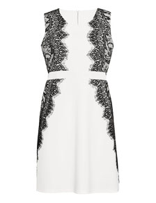 Plus Size Blumenkleid , Kleid Übergröße