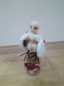 羊毛フェルト 人形 作り方