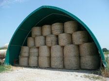 Agro-Widmer Stalleinrichtungen und Silos - Foto Aktion Rundbogenzelte