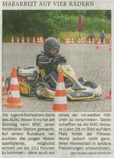 Titelseite Jeversches Wochenblatt 21.06.18