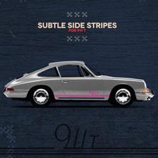 Porsche Sticker 911t