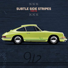 Porsche Sticker 912