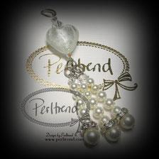 www.perltrend.com Anhänger Herz Quaste Design by Perltrend