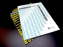 Katalog zur Ansbach Contemporary 2016 und 2018 erhältlich im Amt für Kultur und Tourismus Ansbach