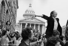 Paris - Rue Soufflot - 21 mai 1981