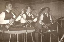 Dietmar bei den Comet's in den 60'ern.