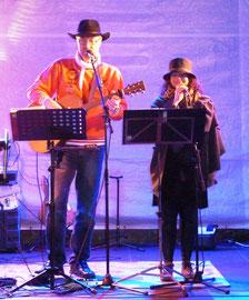 Federweißerfest 2015 im Kulturschloß Großenhain Open Air bei 8 Grad !!