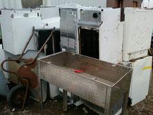 Kühlschrank, Geschirrspüler, Haushaltsgeräte, Edelstahl