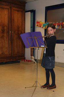 présentation de la flûte traversière - journée des talents - décembre 2017